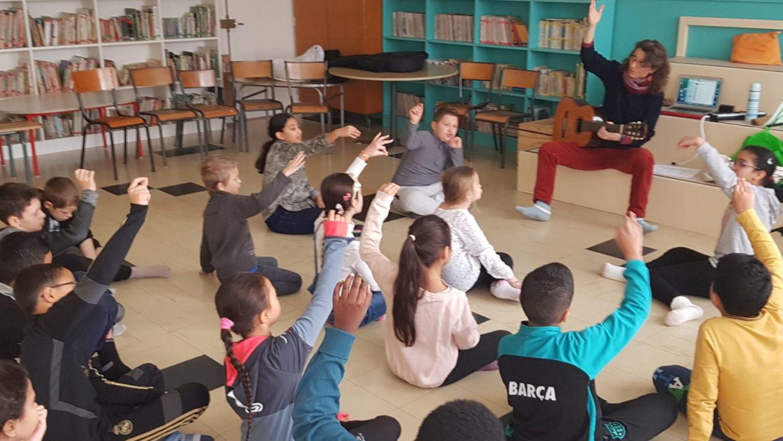 séance de travail 100% choral à Auxerre - décembre 2019