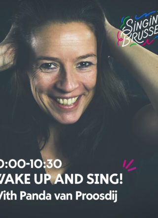 photo de Panda van Proosdij au Singing Brussels Celebration 2020