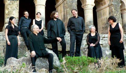 Photo de l'Ensemble Gilles Binchois en résideence à la Cité de la Voix